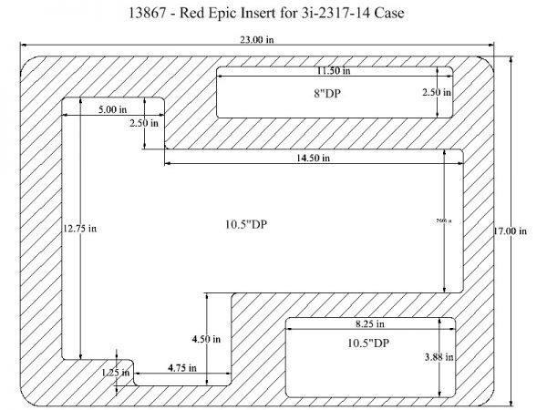 13867 – RED EPIC 3i-2317-14