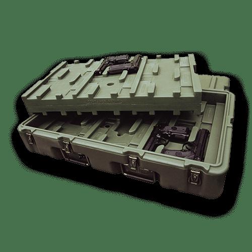 military slider case